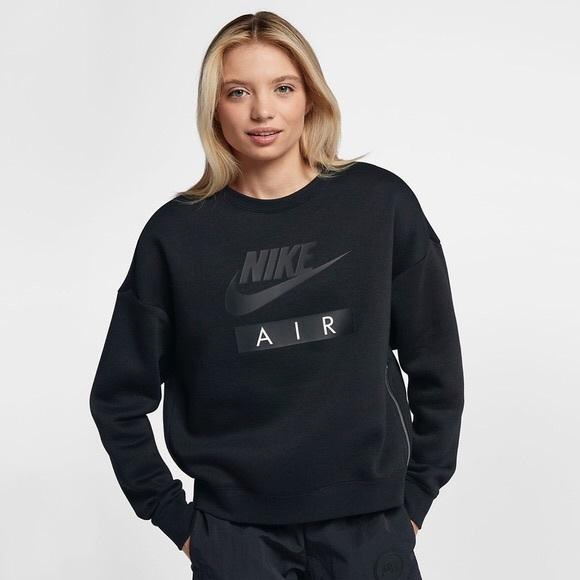 8fffe23313629b Nike Air Side Zip Baggy Sweatshirt